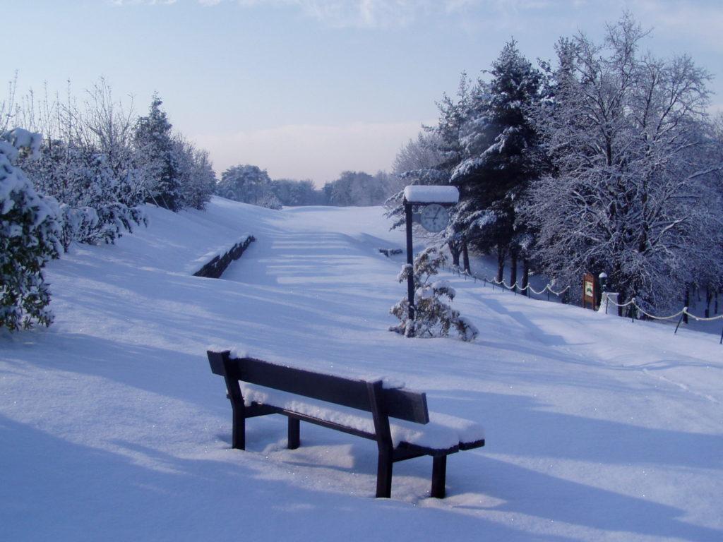 Golf Club la Pineta in Winter